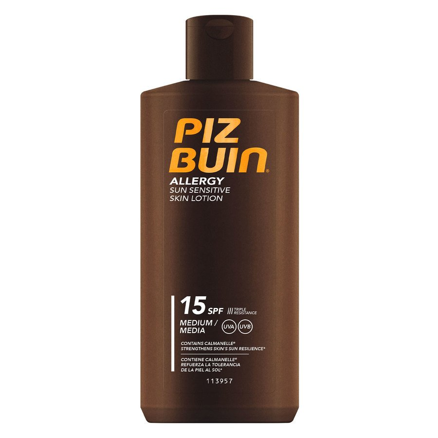 Piz Buin Allergy Sun Sensitive Skin Lotion SPF15 200ml