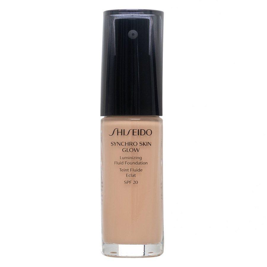 Shiseido Synchro Skin Glow Luminizing Foundation Rose #3 30ml