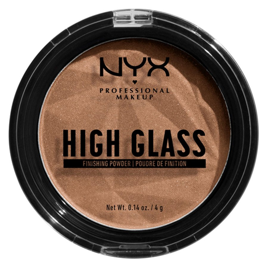 NYX Professional Makeup High Glass Finishing Powder Deep 4g