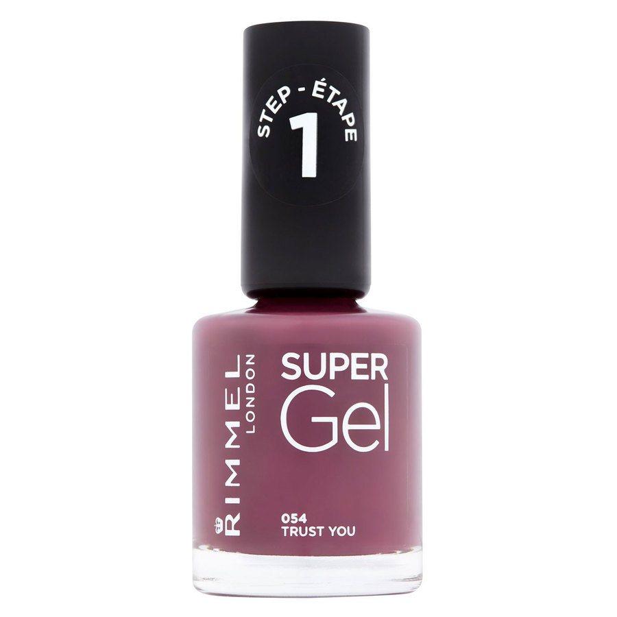 Rimmel London Super Gel Nail Polish #054 Trust You 12ml