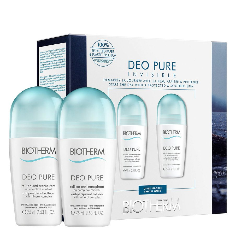 Biotherm Deo Pure Roll-On Duo Set 2x75ml