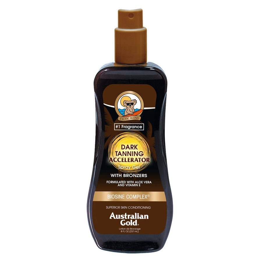 Australian Gold Dark Tanning Accelerator Spray Gel 237ml