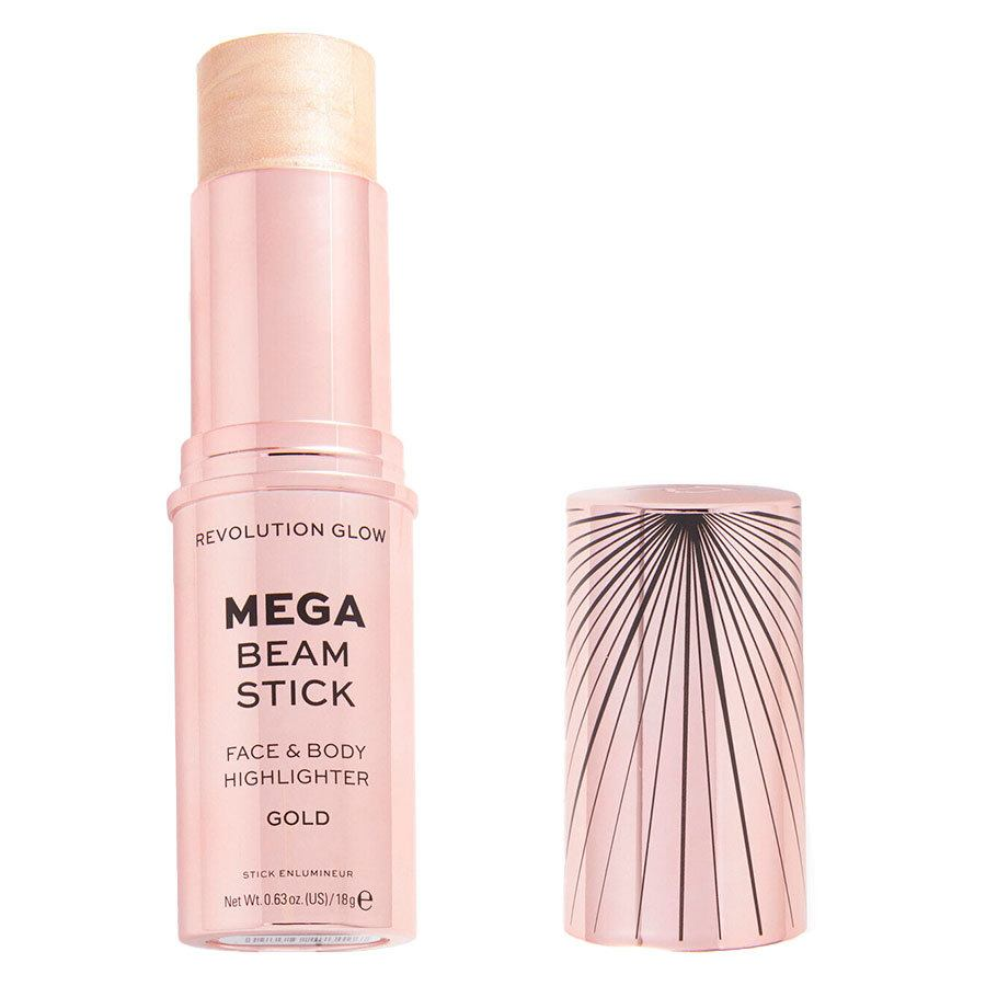 Revolution Beauty Makeup Revolution Glow Mega Beam Stick Highlighter Gold 18g