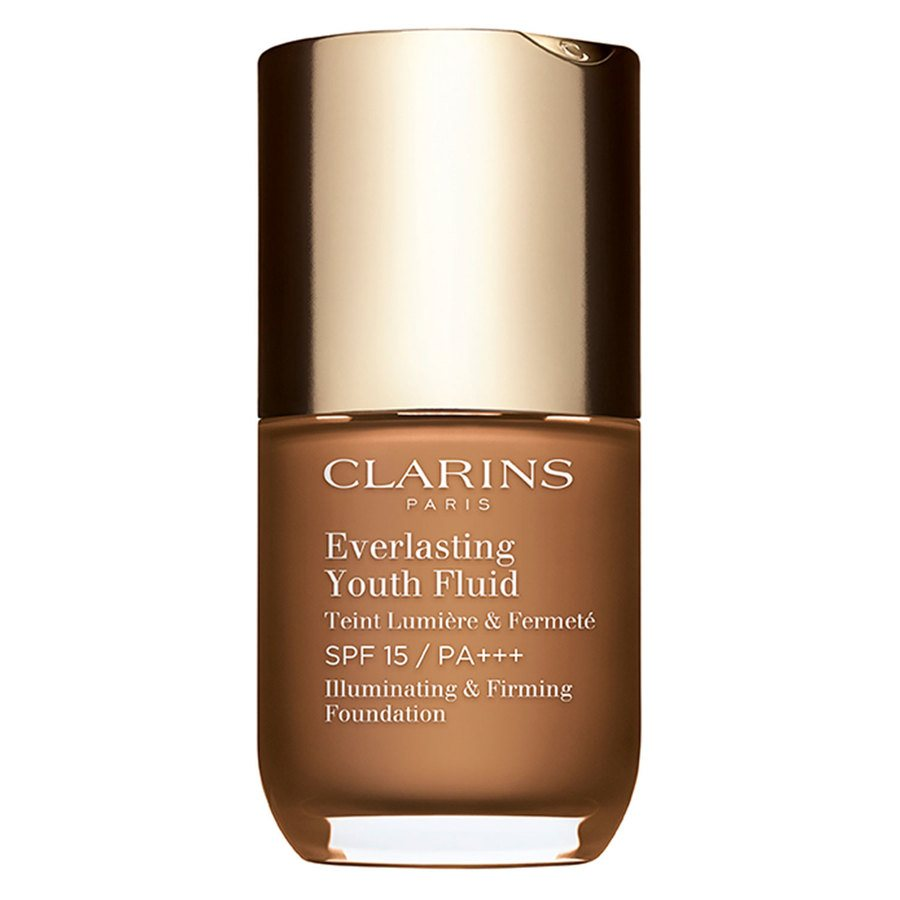 Clarins Everlasting Youth Fluid Foundation #118,5 Chocolate 30ml