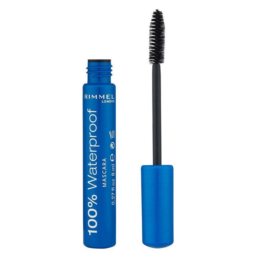 Rimmel 100% Waterproof Mascara Brown Black 8ml