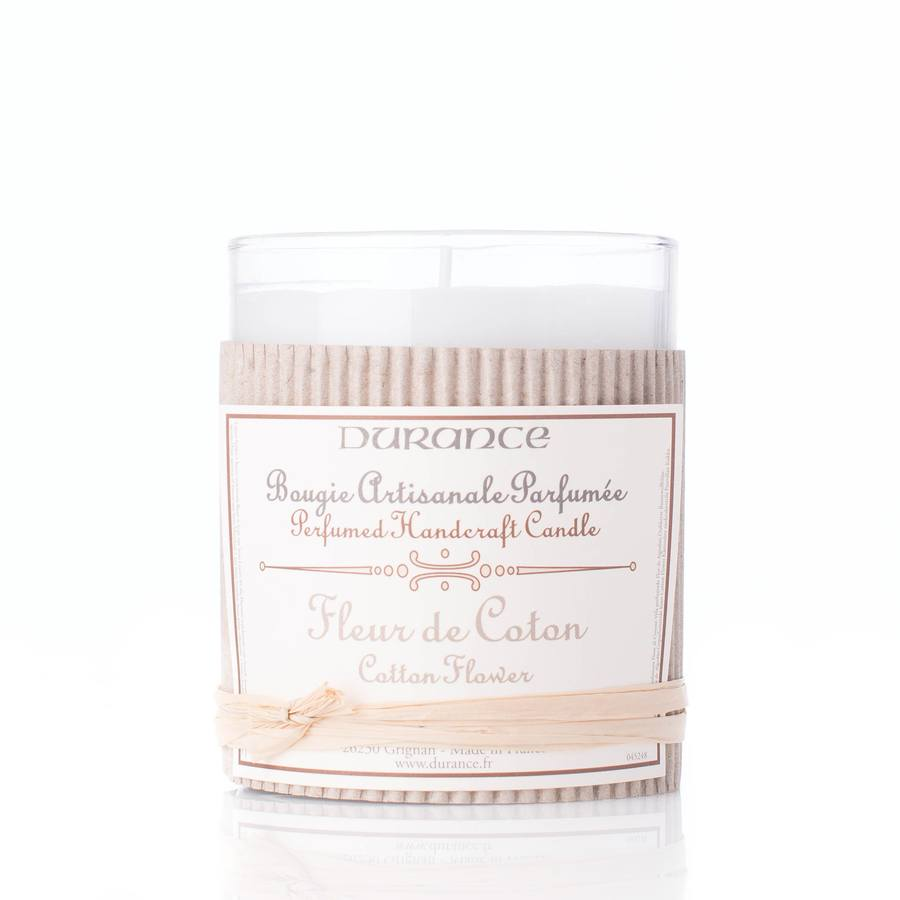 Durance Perfumed Handcraft Candle Cotton Flower 180g
