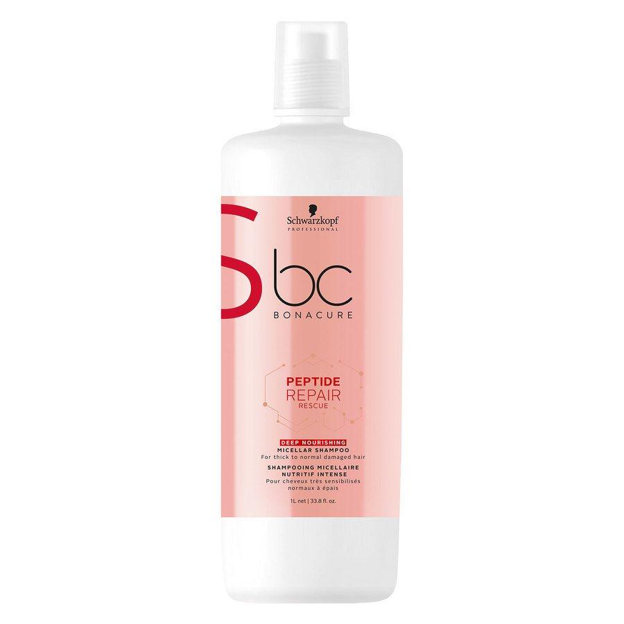 Schwarzkopf BC Peptide Repair Rescue Shampoo Deep Nourishing 1000ml