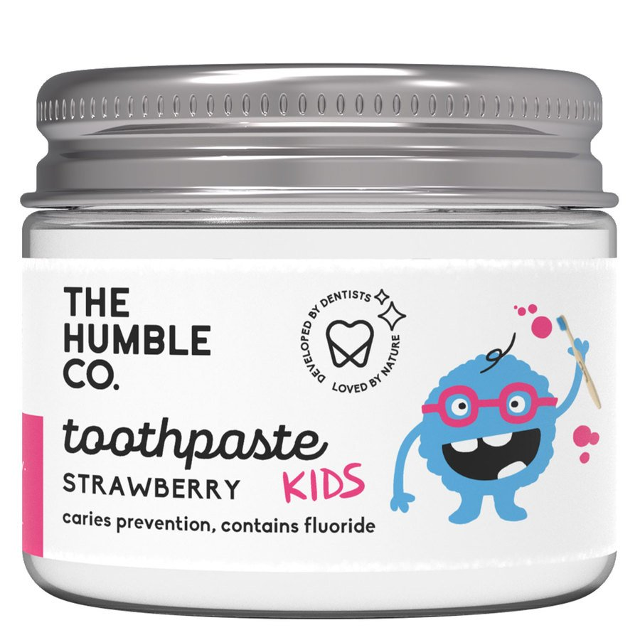 The Humble Co Humble Natural Toothpaste In Jar Kids Strawberry 50ml