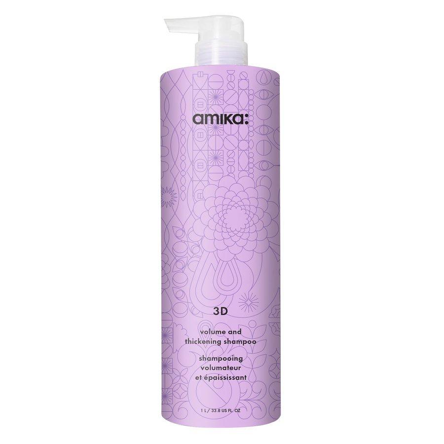 Amika 3D Volumizing And Thickening Shampoo 1000ml