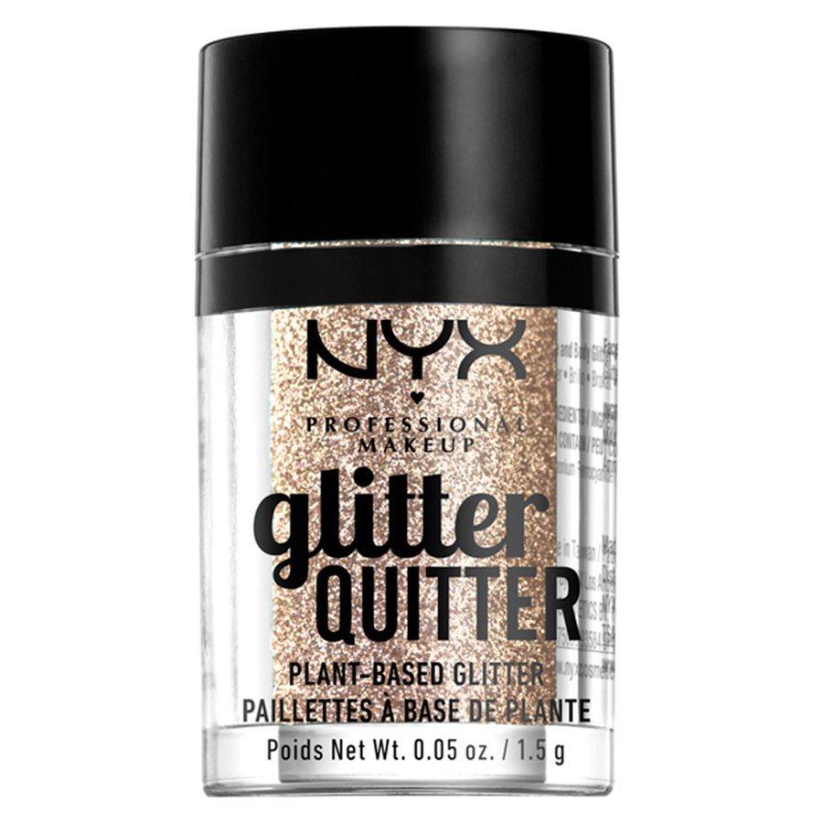 NYX Professional Makeup Glitter Quitter Plant Based Glitter Gold 1,5g