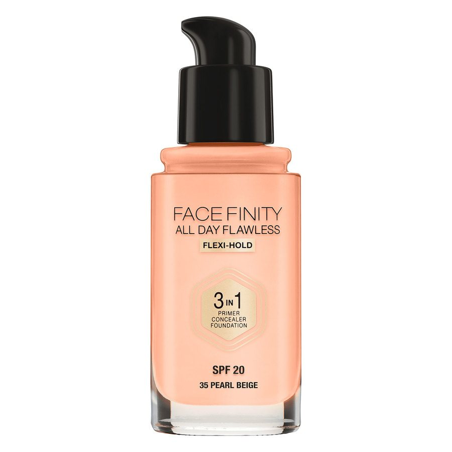 Max Factor Facefinity All Day Flawless 3 In 1 Foundation #35 Pearl Beige 30ml