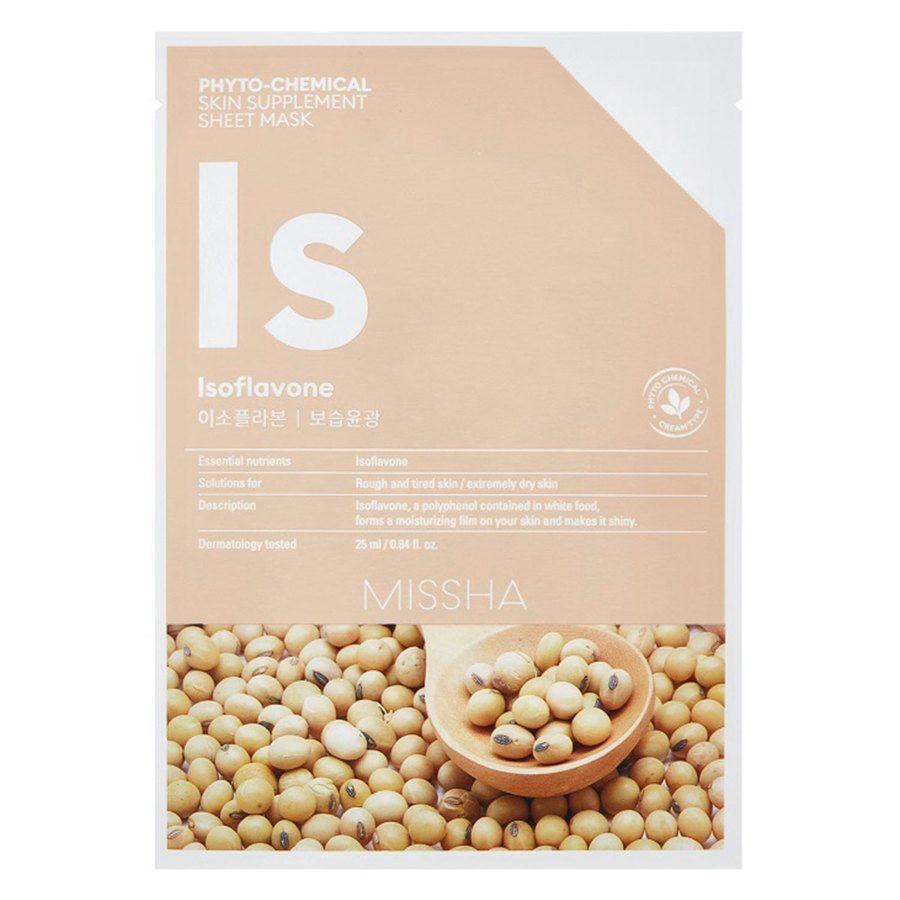 Missha Phytochemical Skin Supplement Sheet Mask Isoflavone 25ml