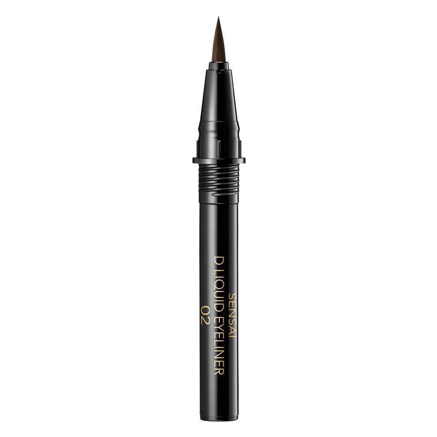 Sensai Designing Liquid Eyeliner Refill 02 Deep Brown 0,6ml