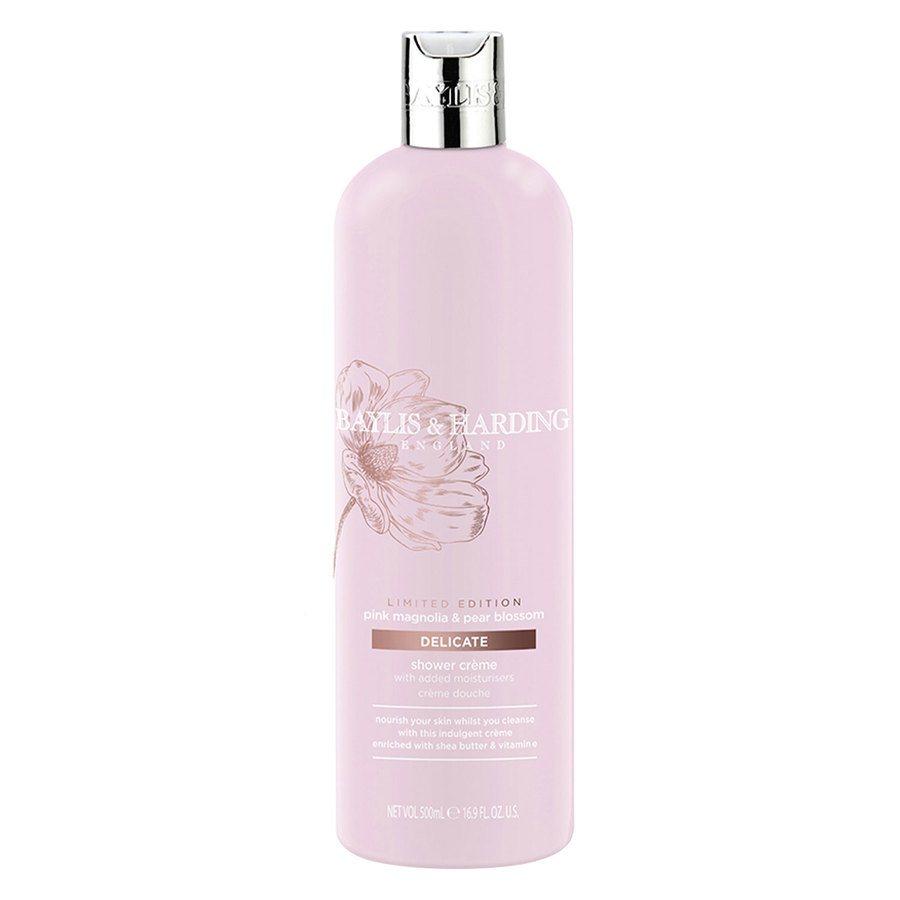 Baylis & Harding Pink Magnolia & Pear Blossom Moisturising Shower Creme 500ml