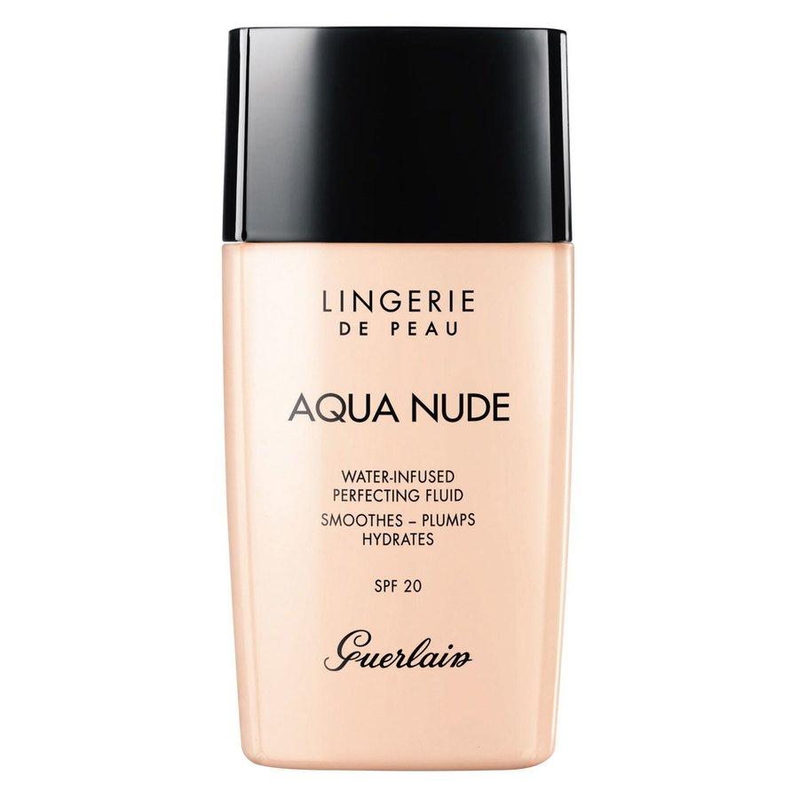 Guerlain Lingerie De Peau Aqua Nude Foundation #00N Porcelain 30ml