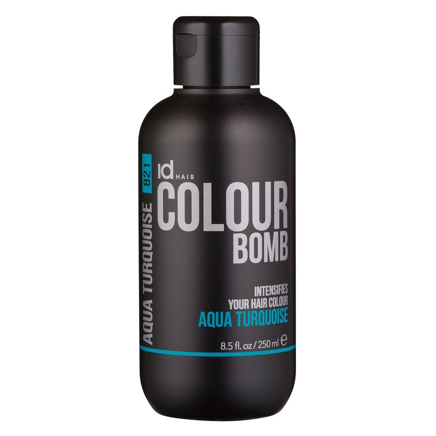 Id Hair Colour Bomb Aqua Turquoise 250ml