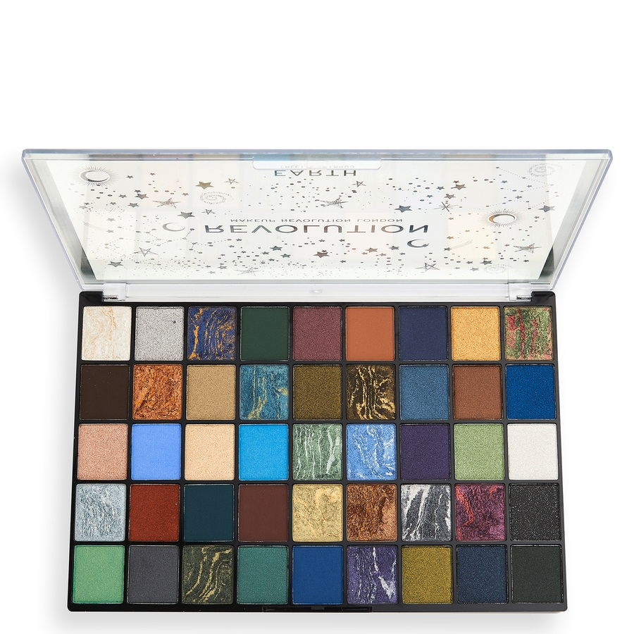 Makeup Revolution Earth Eyeshadow Palette 45x1,35g