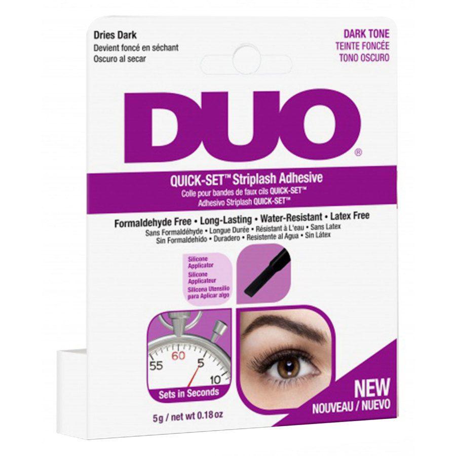 Duo Quick Set Adhesive Brush Dark 5g