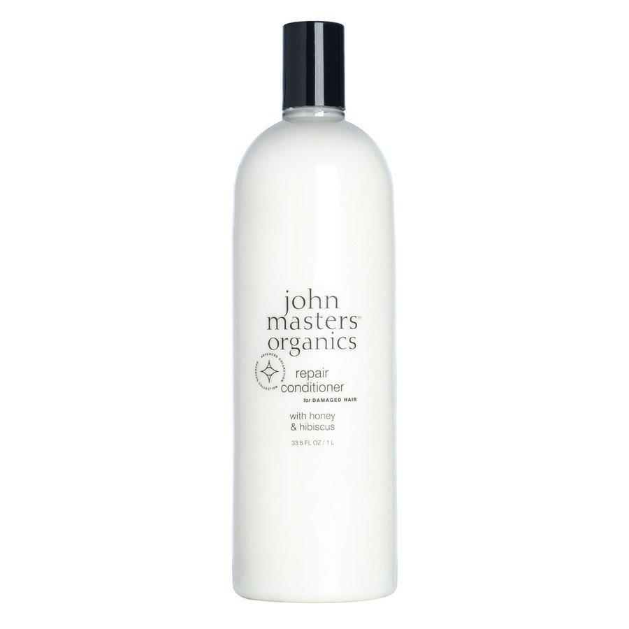 John Masters Organic Repair Conditioner For Damaged Hair With Honey & Hibiscus 1000ml