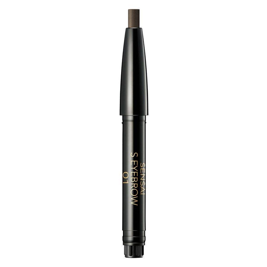 Sensai Styling Eyebrow Pencil Refill 01 Dark Brown 0,2g