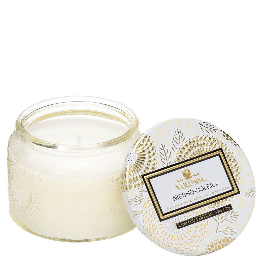 Voluspa Small Glass Jar Candle Nissho Soleil  90g