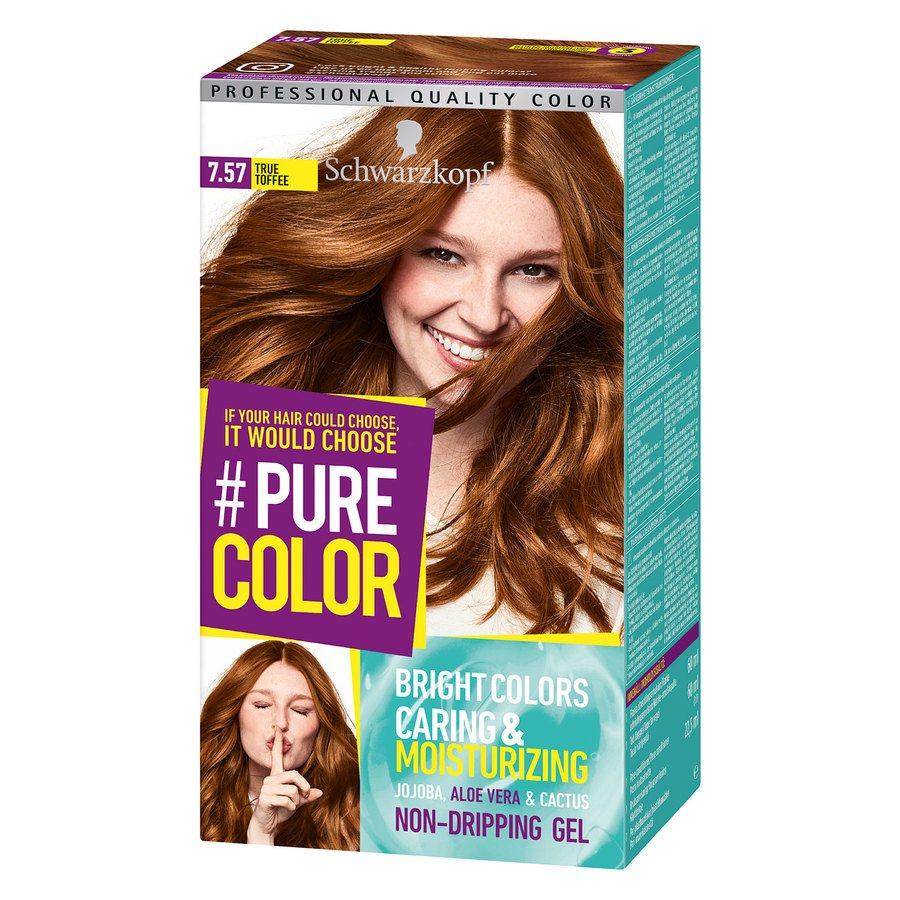 Schwarzkopf Pure Color 7.57 True Toffee 142g
