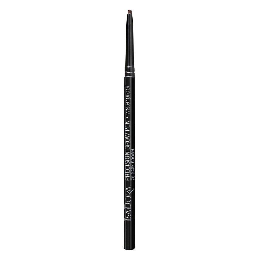 IsaDora Precision Brow Pen Waterproof #70 Dark Brown 0,09g
