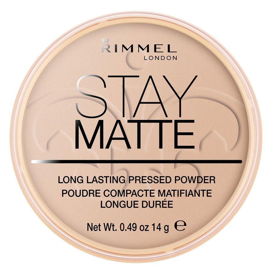 Rimmel London Stay Matte Pressed Face Powder #005 Silky Beige 14g