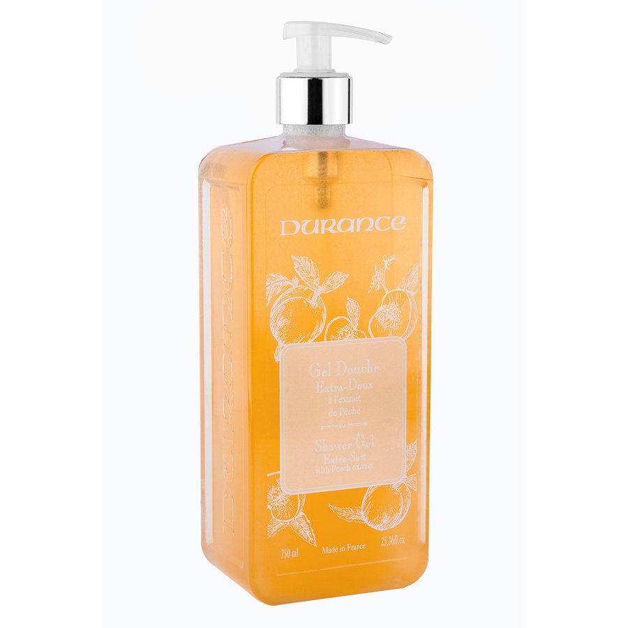 Durance Liquid Marseille Soap With Peach And Basil Dusjgele 750ml