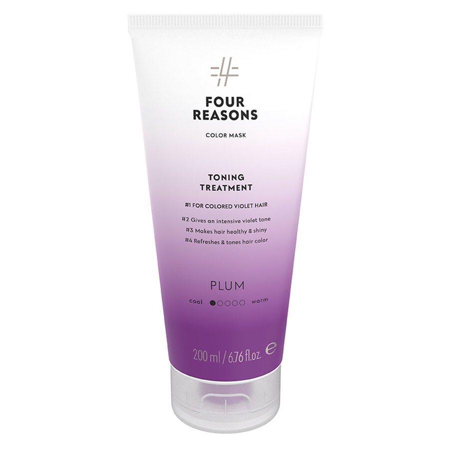 Four Reasons Color Mask Toning Treatment Plum 200ml