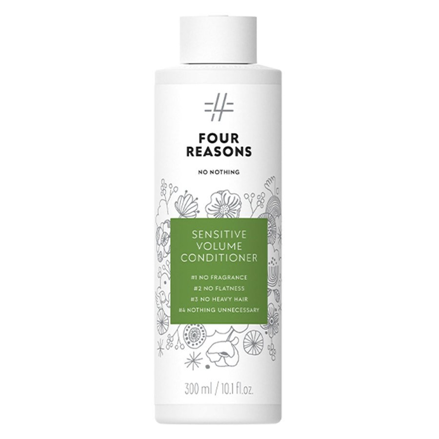 Four Reasons No Nothing Sensitive Volume Conditioner 300ml
