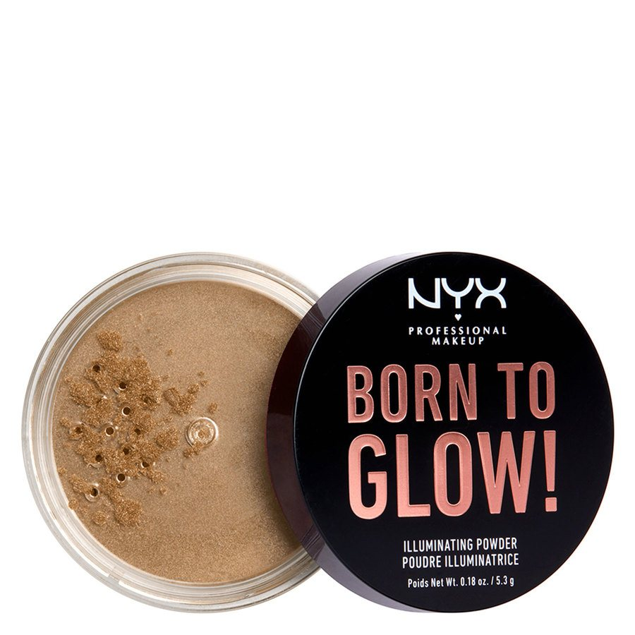 NYX Professional Makeup Born To Glow Illuminating Powder Ultra Light Beam 5,3g
