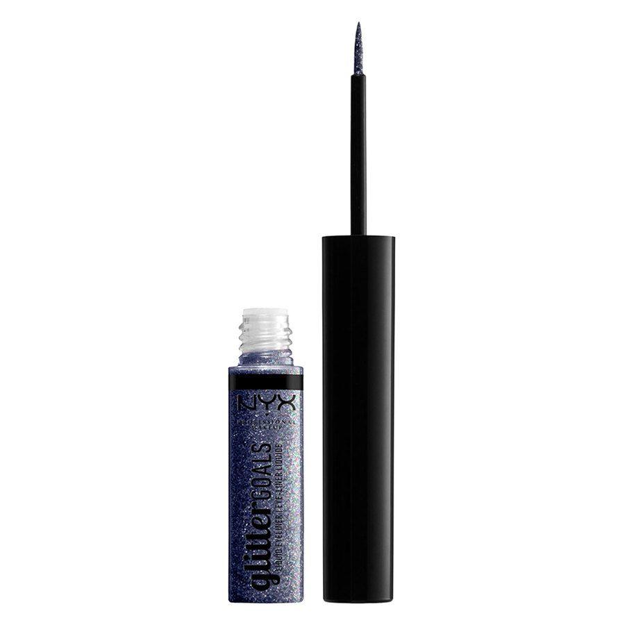 NYX Professional Makeup Glitter Goals Liquid Eyeliner Black 4ml