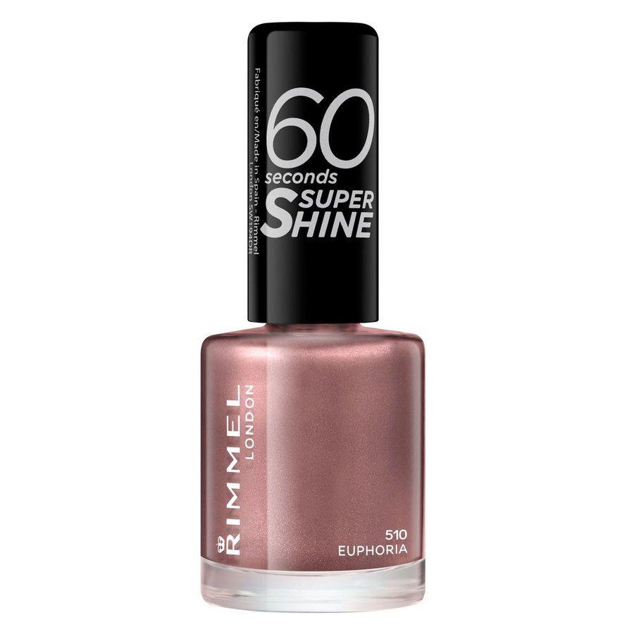 Rimmel London 60 Seconds Super Shine Nail Polish #510 Euphoria 8ml