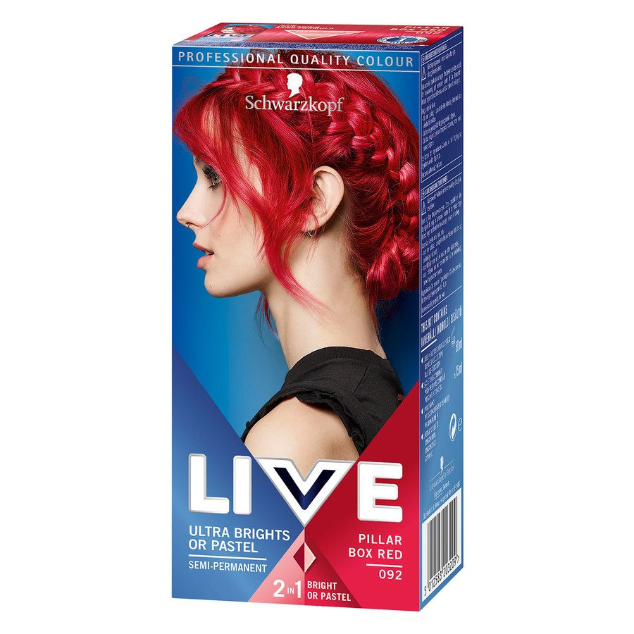 Schwarzkopf Live Ultra Bright #92 Pillar Box Red