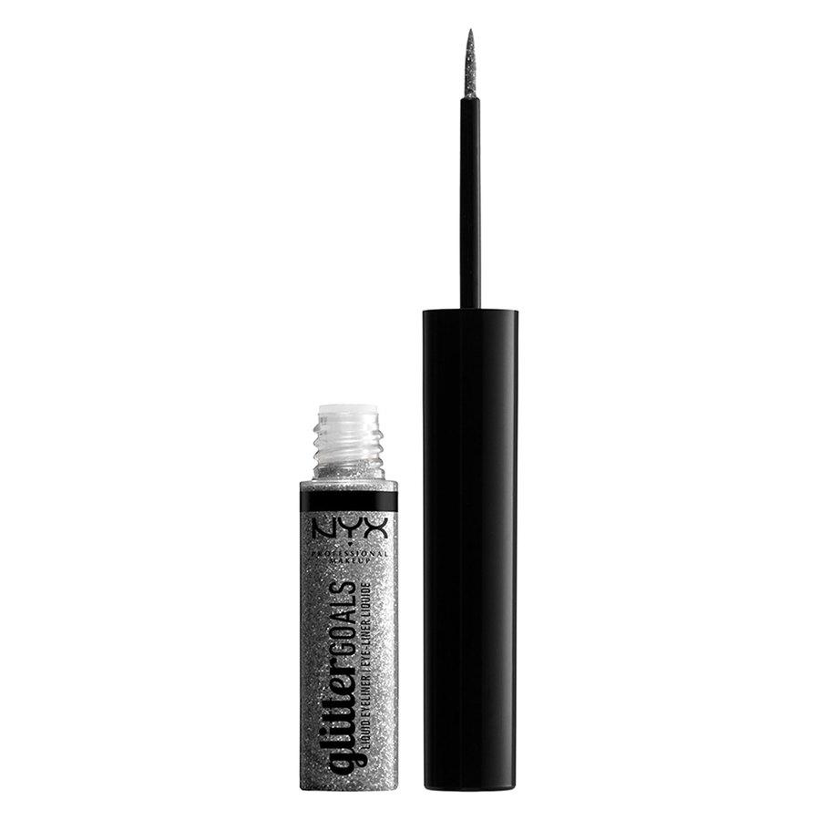 NYX Professional Makeup Glitter Goals Liquid Eyeliner Diamond Dust 4ml