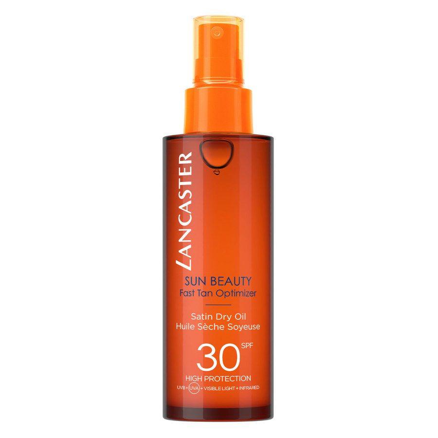 Lancaster Sun Beauty Fast Tan Optimizer Satin Dry Oil SPF30 150ml