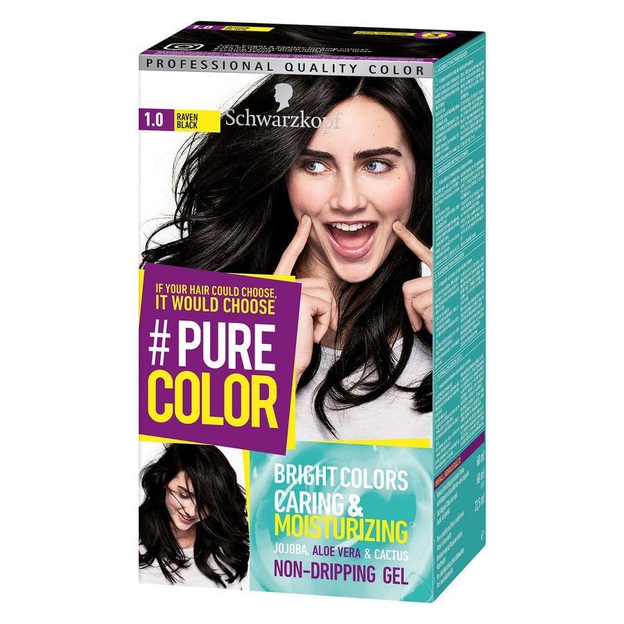 Schwarzkopf Pure Color 1.0 Raven Black 142g