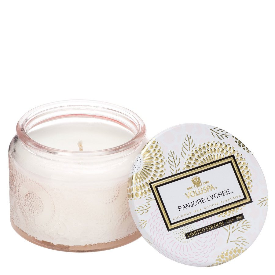 Voluspa Small Glass Jar Candle Panjore Lychee 90g
