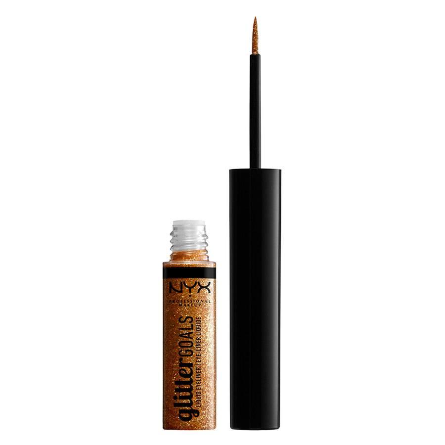 NYX Professional Makeup Glitter Goals Liquid Eyeliner Chamomile 4ml