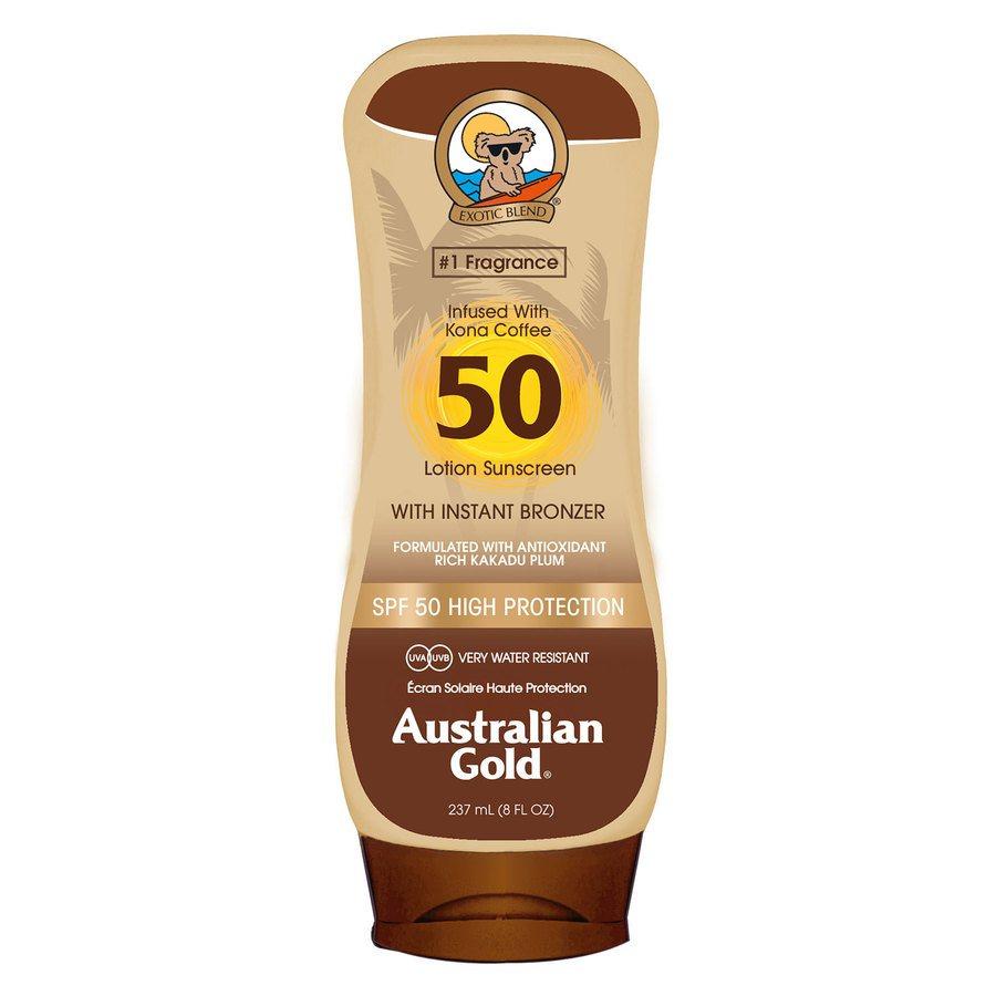 Australian Gold SPF 50 Lotion Bronzer 237ml