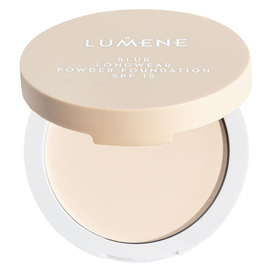 Lumene Blur Longwear Powder Foundation SPF 15 Light Ivory 10g