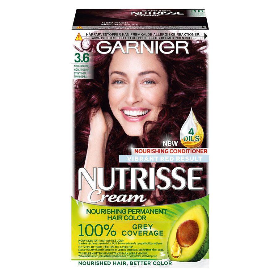 Garnier Nutrisse Cream 3,6 Mørk Rødbrun