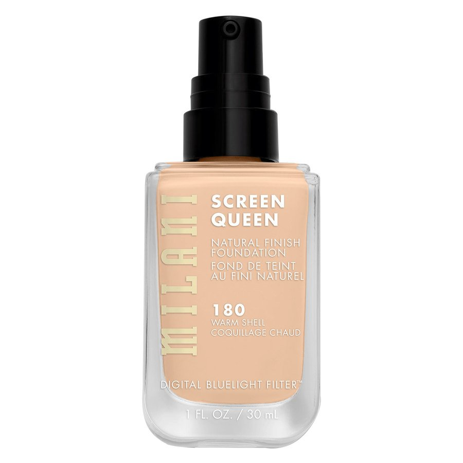 Milani Screen Queen Foundation 180W Warm Shell 30ml