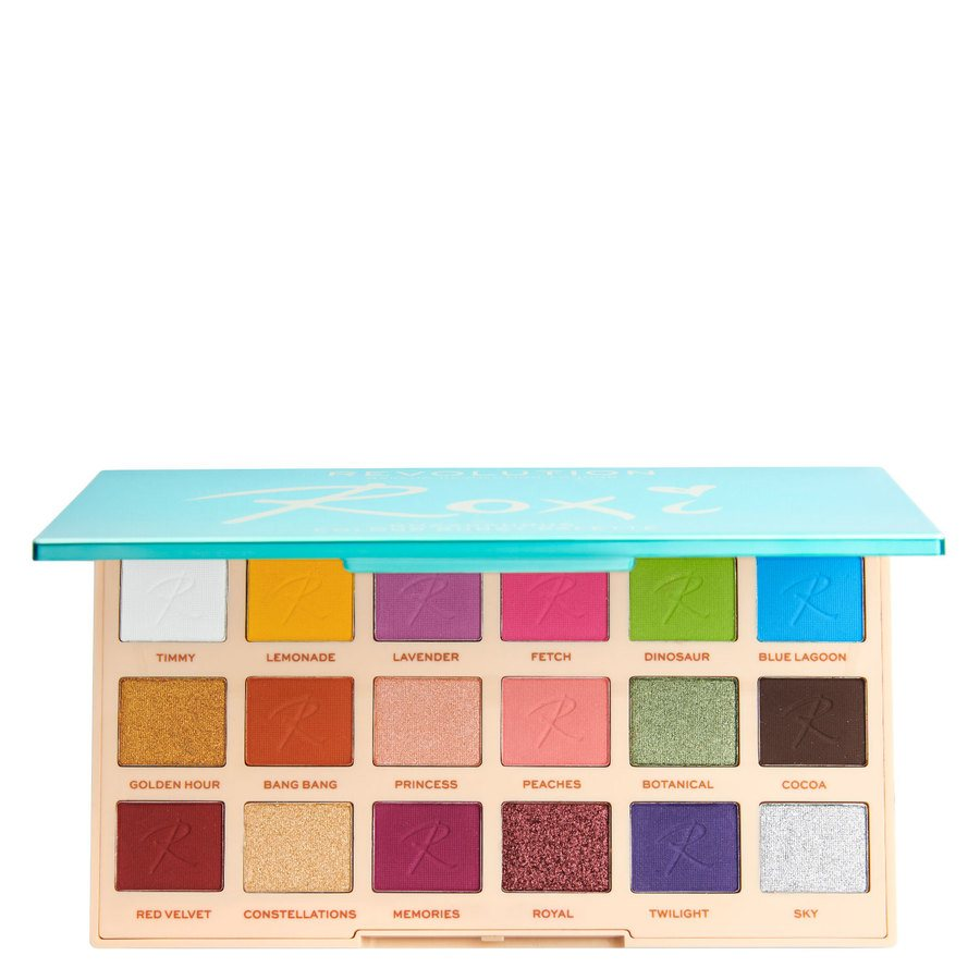 Makeup Revolution X Roxi Palette Color Burst Shadow 18x0,8g