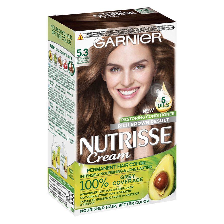 Garnier Nutrisse Cream 5.3