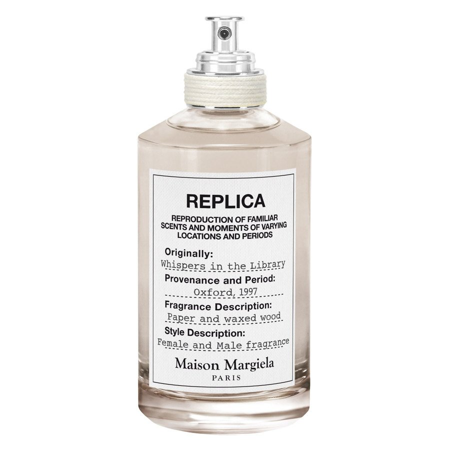 Maison Margiela Replica Whispers In The Library Unisex Eau De Toilette 100ml