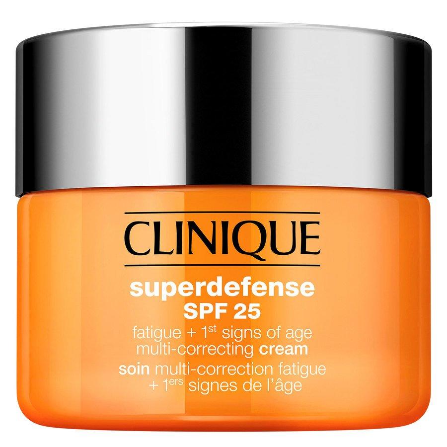 Clinique Superdefense SPF25 Fatigue + 1st Signs Of Age Multi-Correcting Cream Skin Type 1+2 30ml