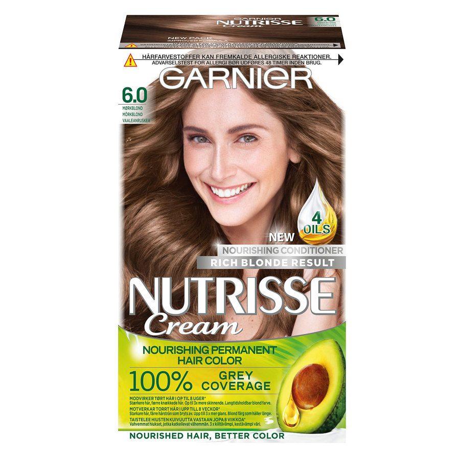 Garnier Nutrisse Cream 6 Mørk Blond