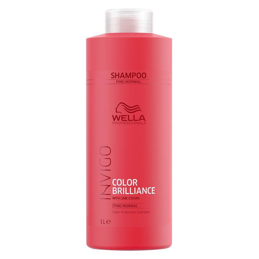 Wella Professionals Invigo Color Brilliance Shampoo Fine Hair  1000ml